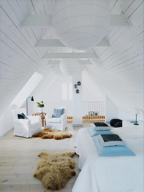 Tips to liven your attic space. DIY