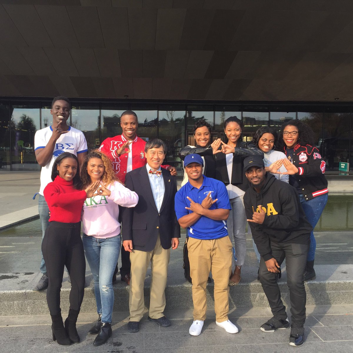 @TheRealNPHC takes to a powerful day at the NAAMHC with @presidentloh and @SSLC_UMD! #APeoplesJourney https://t.co/5VXV7Vbgzj