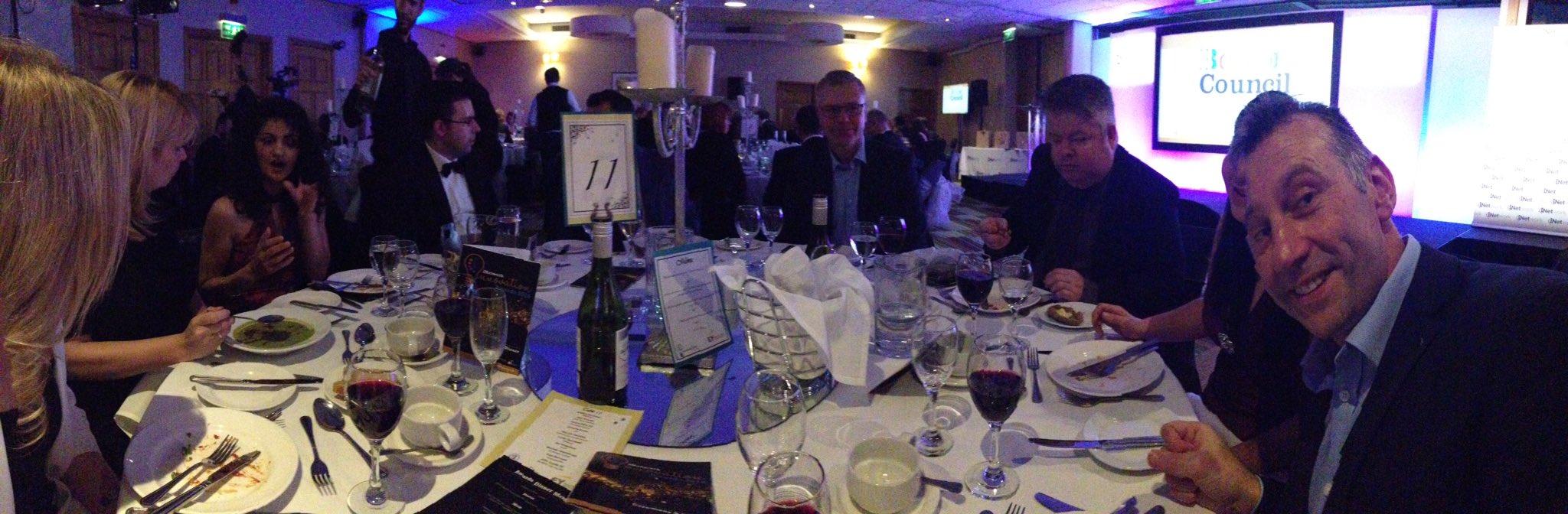 I'm on the best table tonight #inetworkawards https://t.co/JPFCiPqLgh