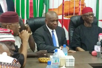 Elombah.com just gathered that the former Governor of Abia State, Chief Orji Uzor Kalu has defected to the ruling All Progressives Congress [APC].