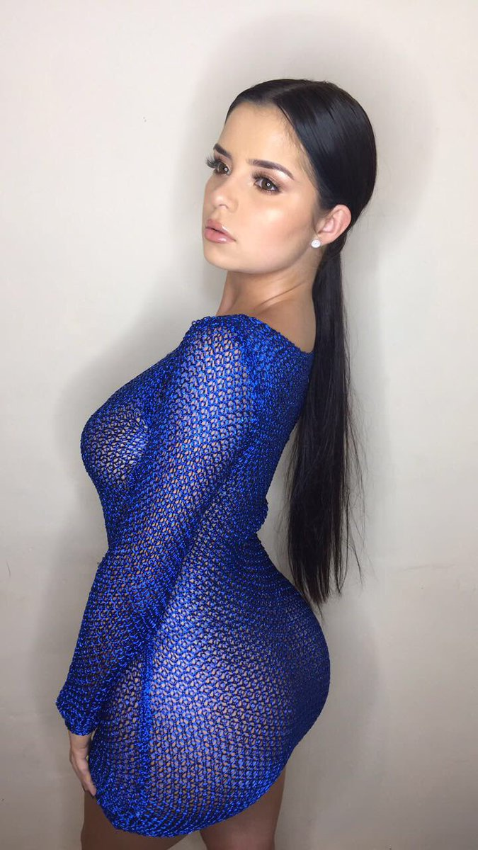 Demi Rose-mawby  - Blue poison twitter @DemiRoseMawby