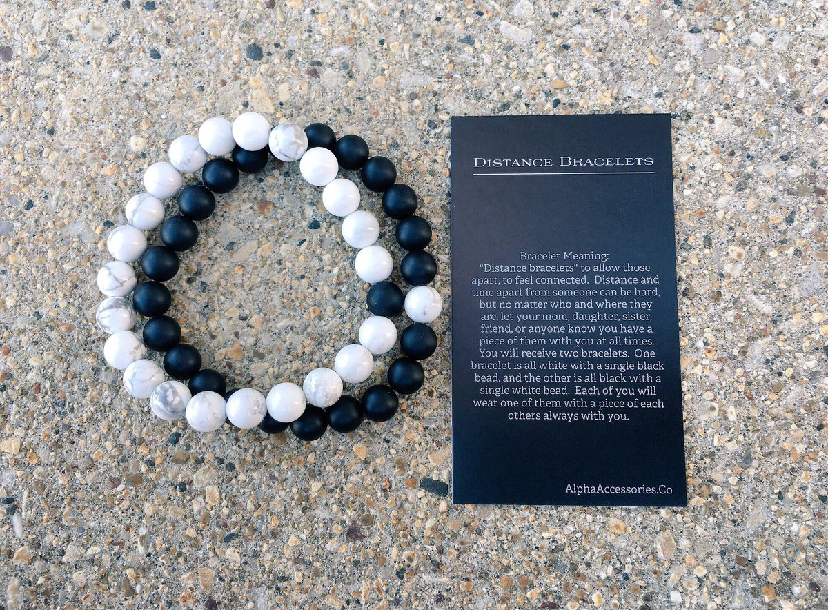 Alpha Accessories On Twitter Introducing Distance Bracelets Like If You D Wear Perfect Gift For Your Bf Gf At