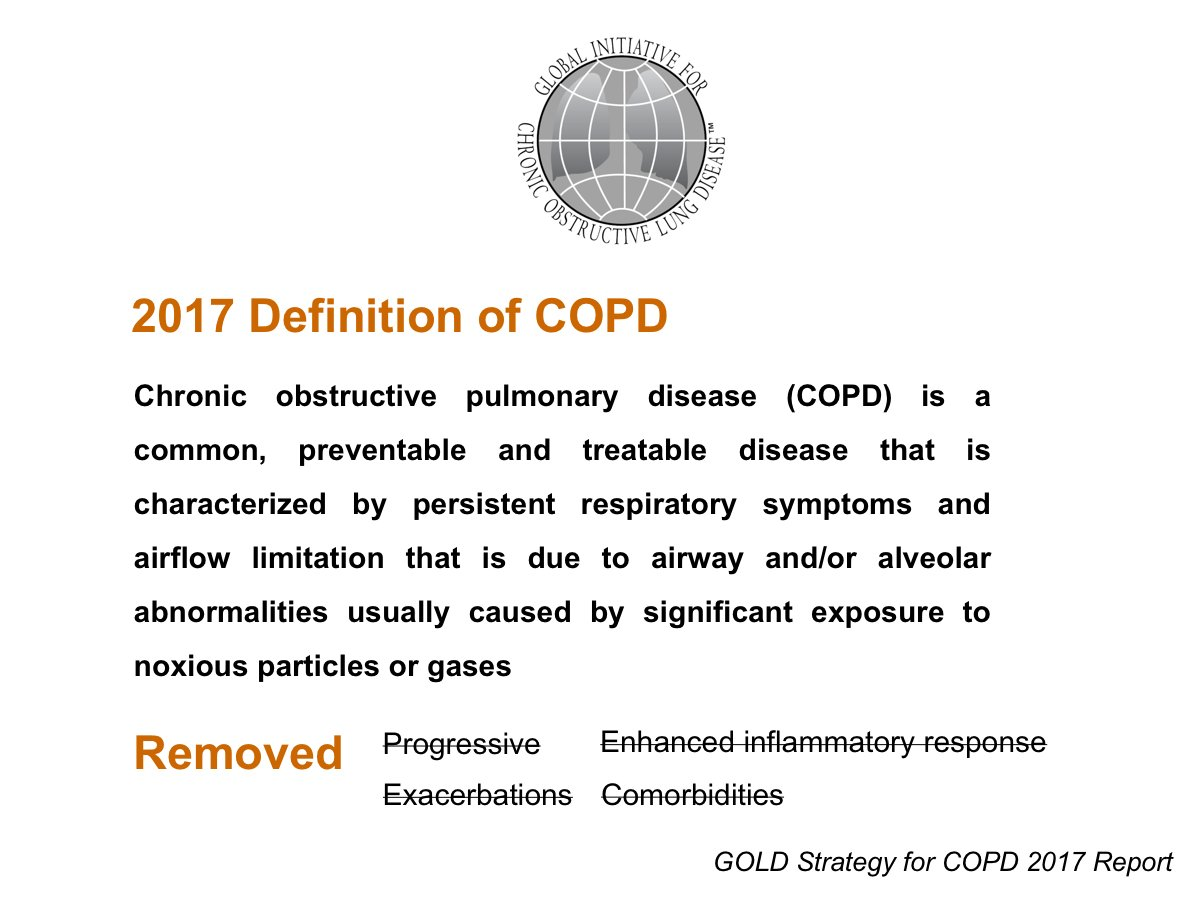 "Frits Franssen on Twitter: ""The 2017 GOLD definition of COPD and ..."