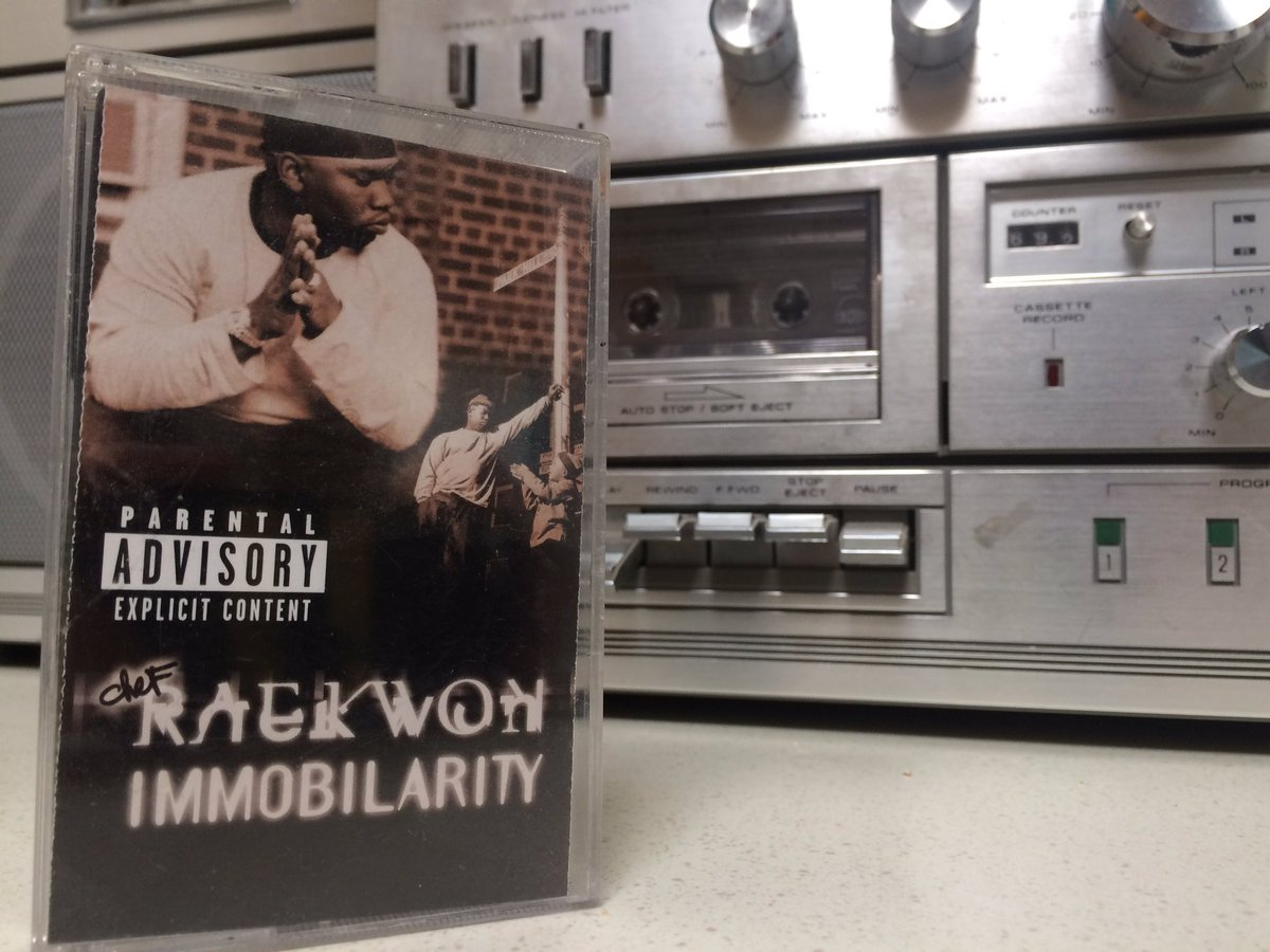 @Raekwon in honor of you i'm listening to Immobilarity on cassette tape