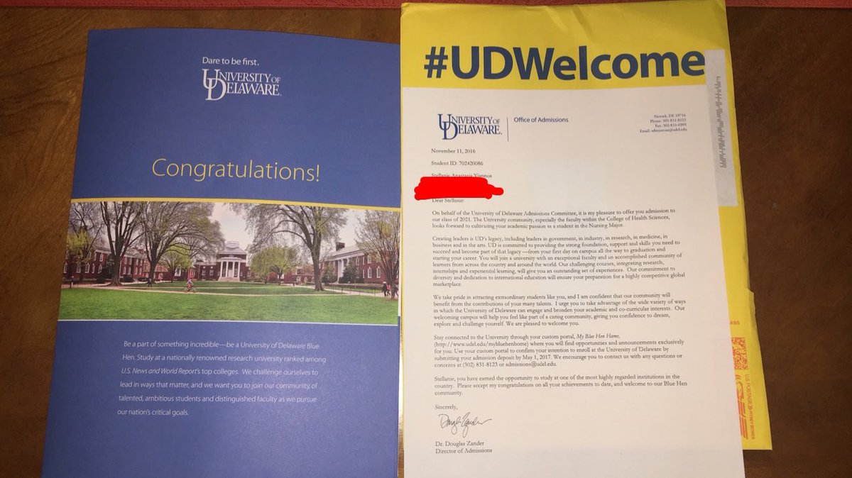 Just got accepted to my number one @UDelaware !!!!!! Life is good life is great https://t.co/BOmwKHlFvr