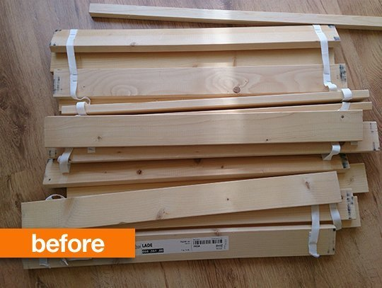 Before you throw anything away, search online for a DIY project that could involve it. ...