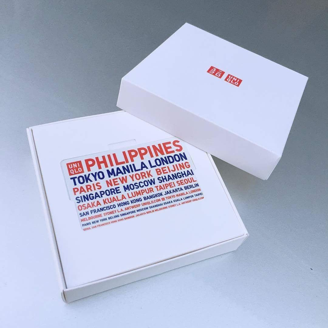 uniqlo gift card philippines gift ideas