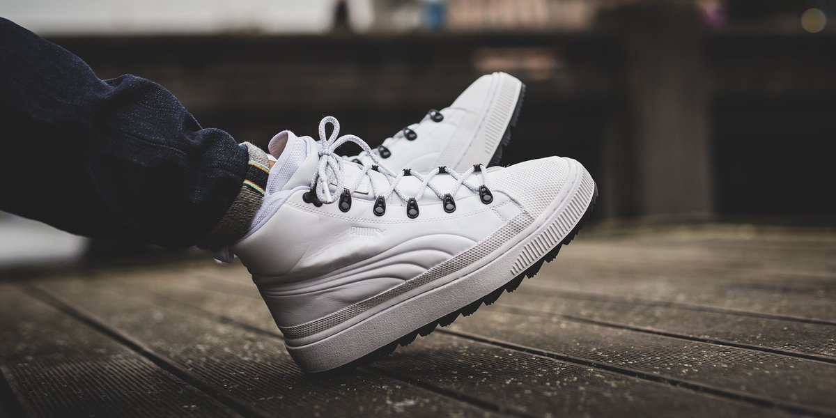 Puma The Ren Boot Puma White SHOP HERE: t.coeR8Gst23RS t.coEYk7AyoICX