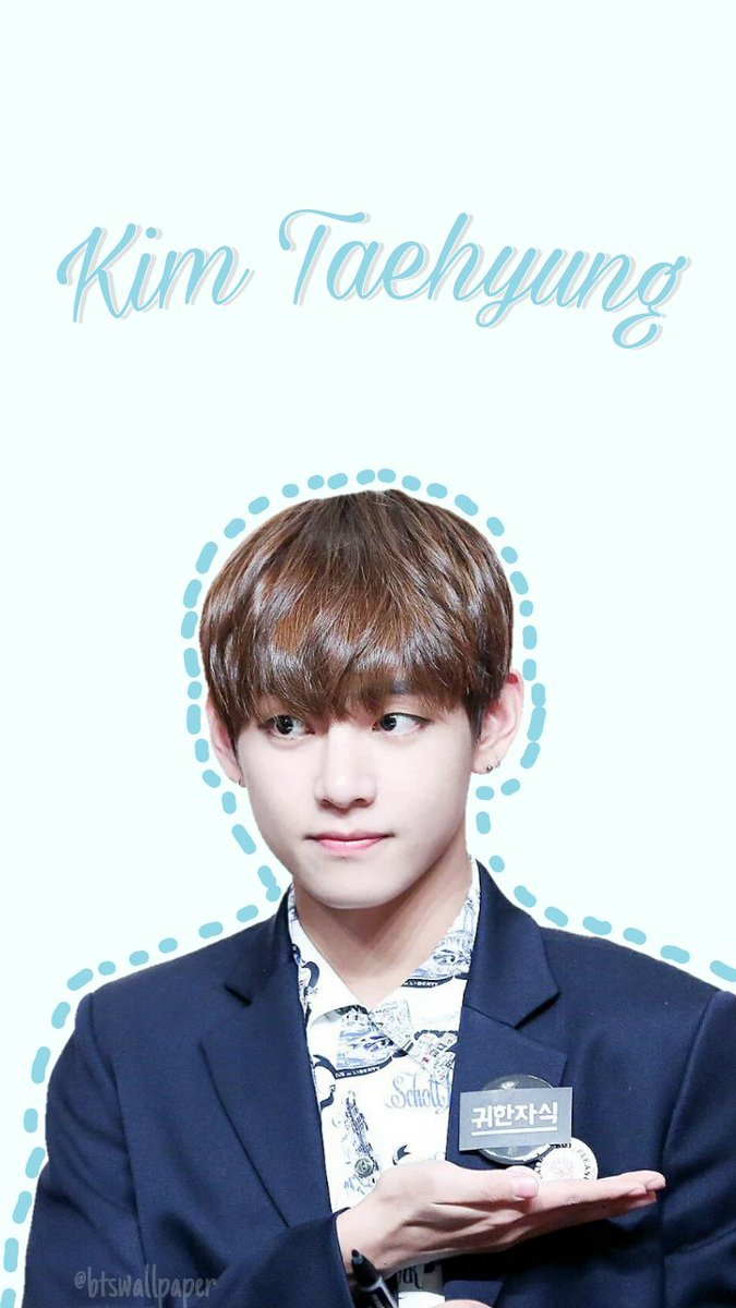 Bts Wallpapers On Twitter Kim Taehyung Simple Wallpaper Pls