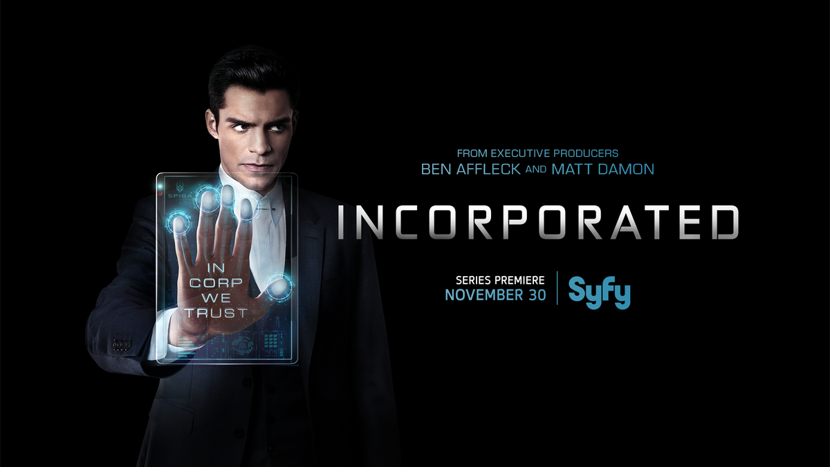 In 2074, ambition is survival. RSVP now to climb #Incorporated's corporate ladder on 11/30 at 9/8c.
