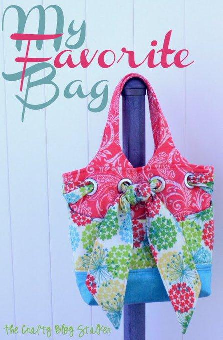 Sewing Day: My Favorite Bag - DIY sew purse handmade
