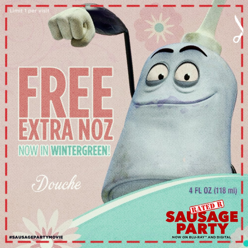 """Sausage Party Movie On Twitter: """"He Relishes The Fact That"""