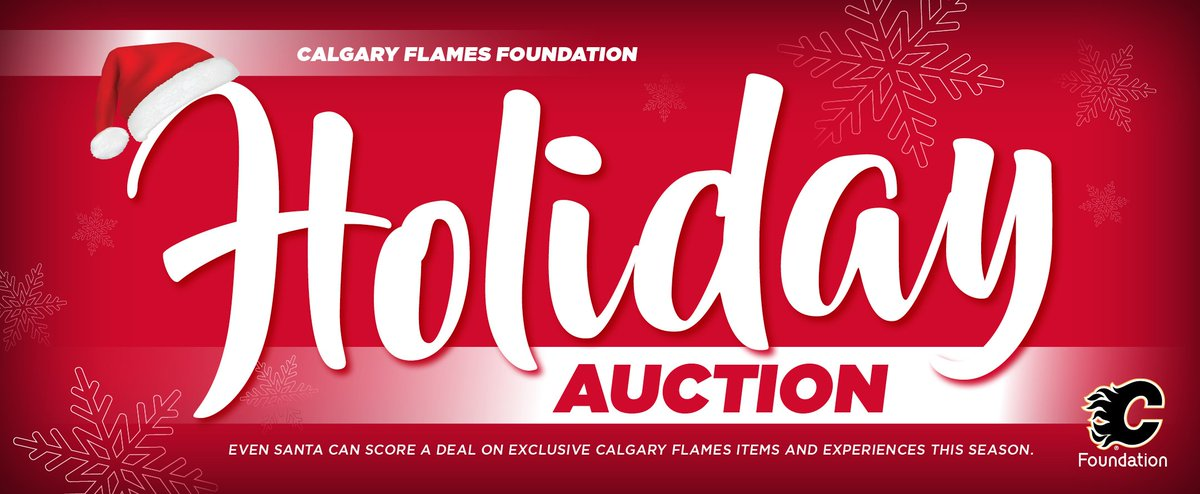 Calgary Flames On Twitter The Flamesfdn Holiday Auction Is Live Check It Out For Some Great Gift Ideas Https T Co T8avu6b1n4