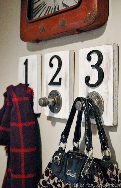 Steel Pipe Hooks DIY project! HomeDecor