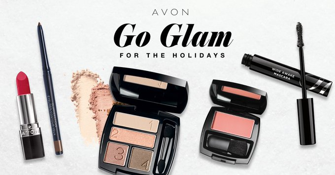 Go glam for the holidays with AvonInsider makeup! AvonRep beauty makeupartist avon