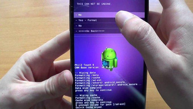 TutorialCmo restaurar un Android a su estado de fbrica?