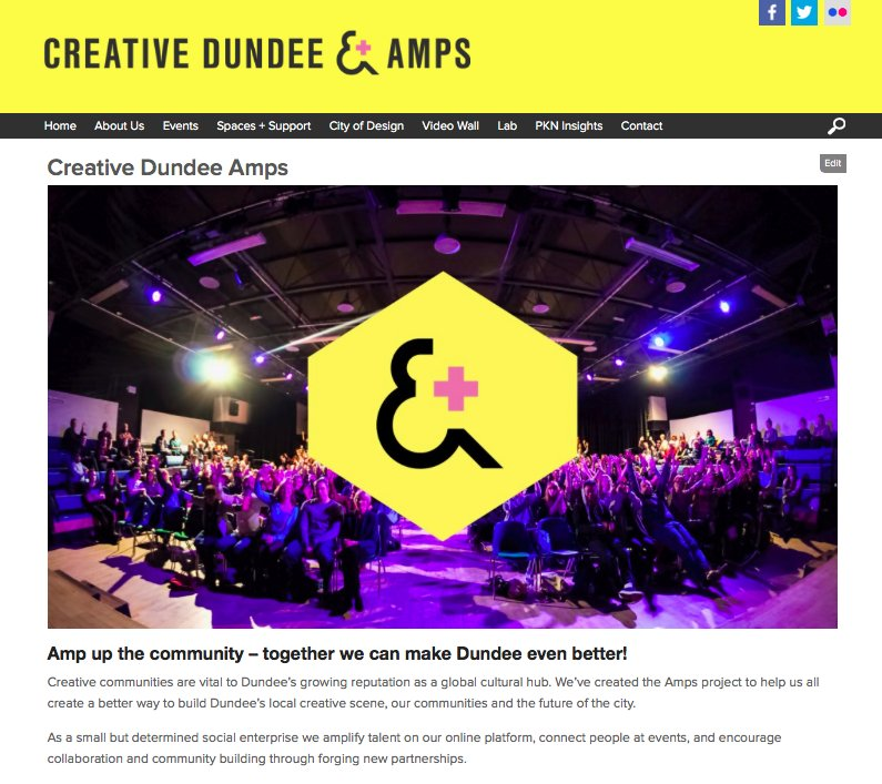 Delighted to launch #AmpsDundee with a new community fund, annual forum + handwritten postcards! Pse do check out: https://t.co/l3IPMgTBfn https://t.co/52tOe4YmfO