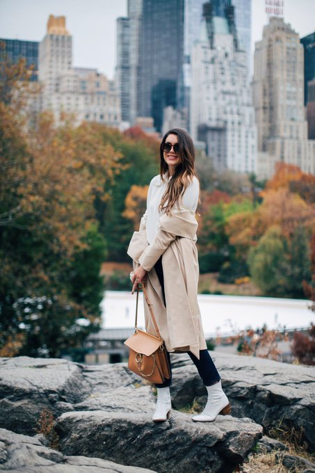 Fall in Central Park via Thrifts and Threads thriftsnthreads ootd