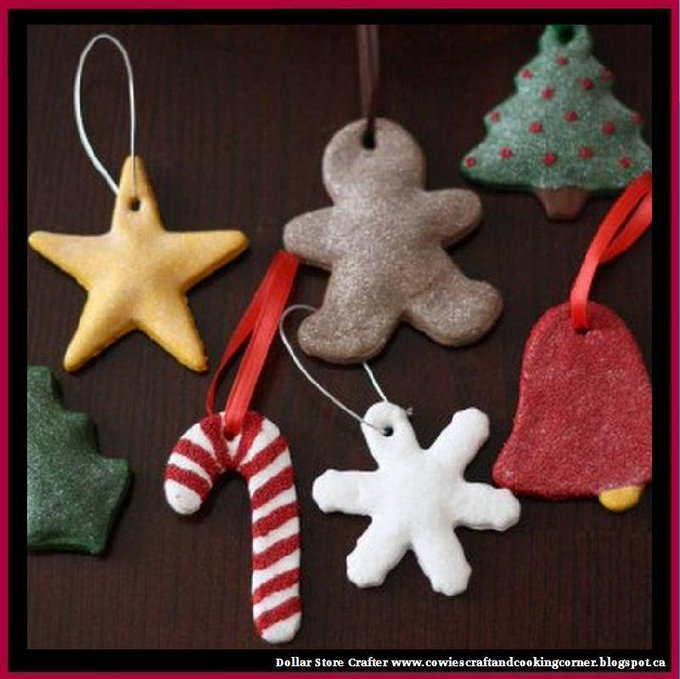 Salt Dough OrnamentsLINK>>christmas crafts christmascrafts diyornaments