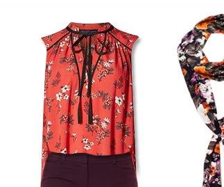 Harvest autumn floral ootd fashionblog nyandcompany