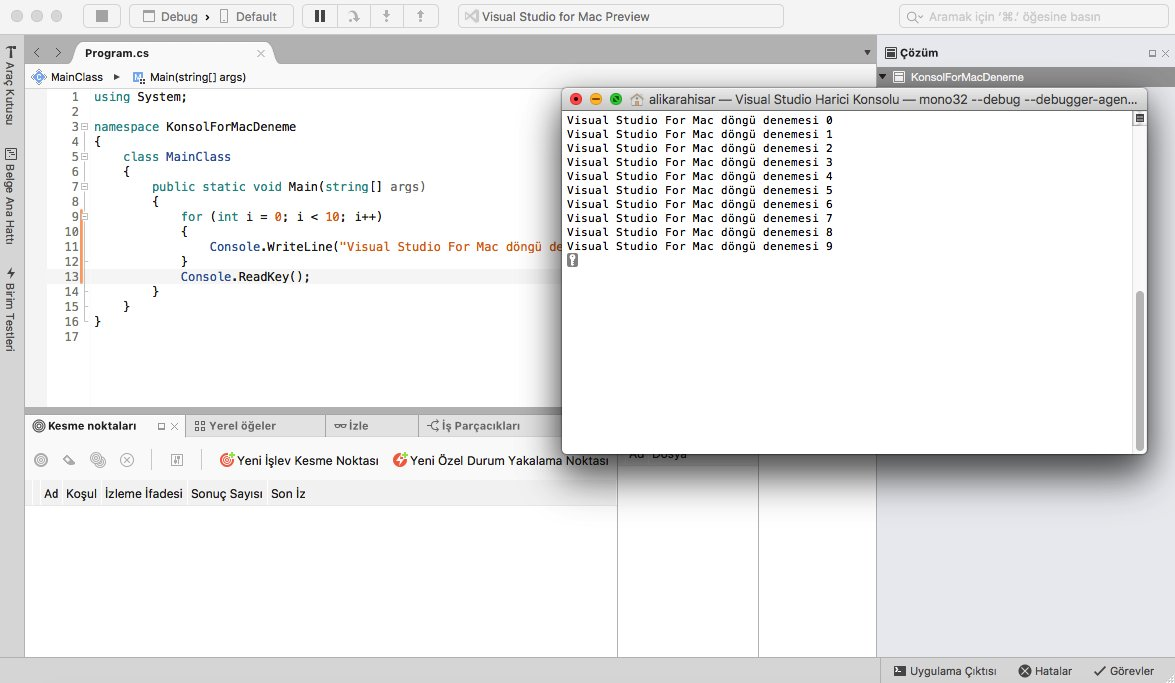 visual studio for mac