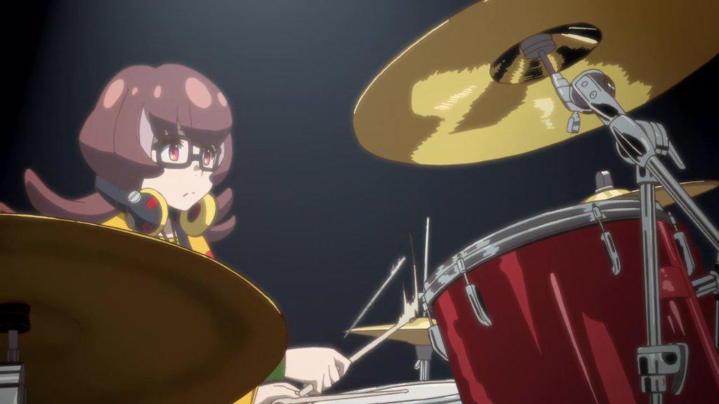 Michael Dimaggio On Twitter Anime Drummer Girl 35 パンチライン