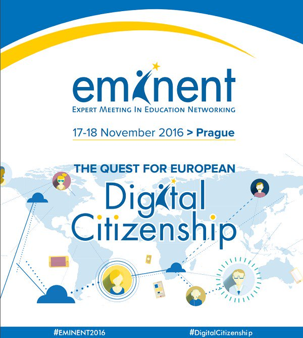 #EMINENT2016 is about to start!  Do not miss the discussions on #DigitalCitizenship https://t.co/EWI5Kv076S https://t.co/ilhoV3EUFS