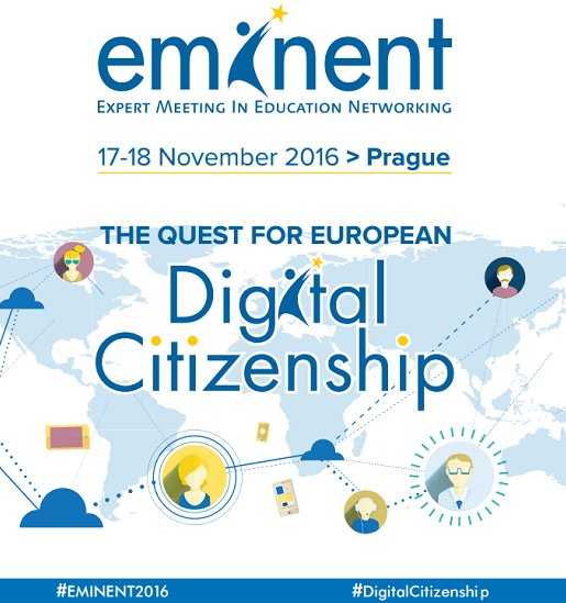 Welcome to all participants and speakers to #EMINENT2016! Discussions on #DigitalCitizenship are about to start! https://t.co/UV1RqZh5J4 https://t.co/T0ue2W3BYh