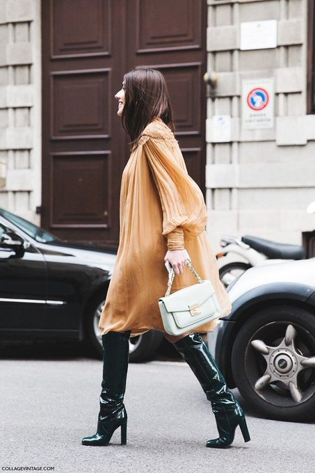 Black boots via Time for Fashion TimeforFashion ootd