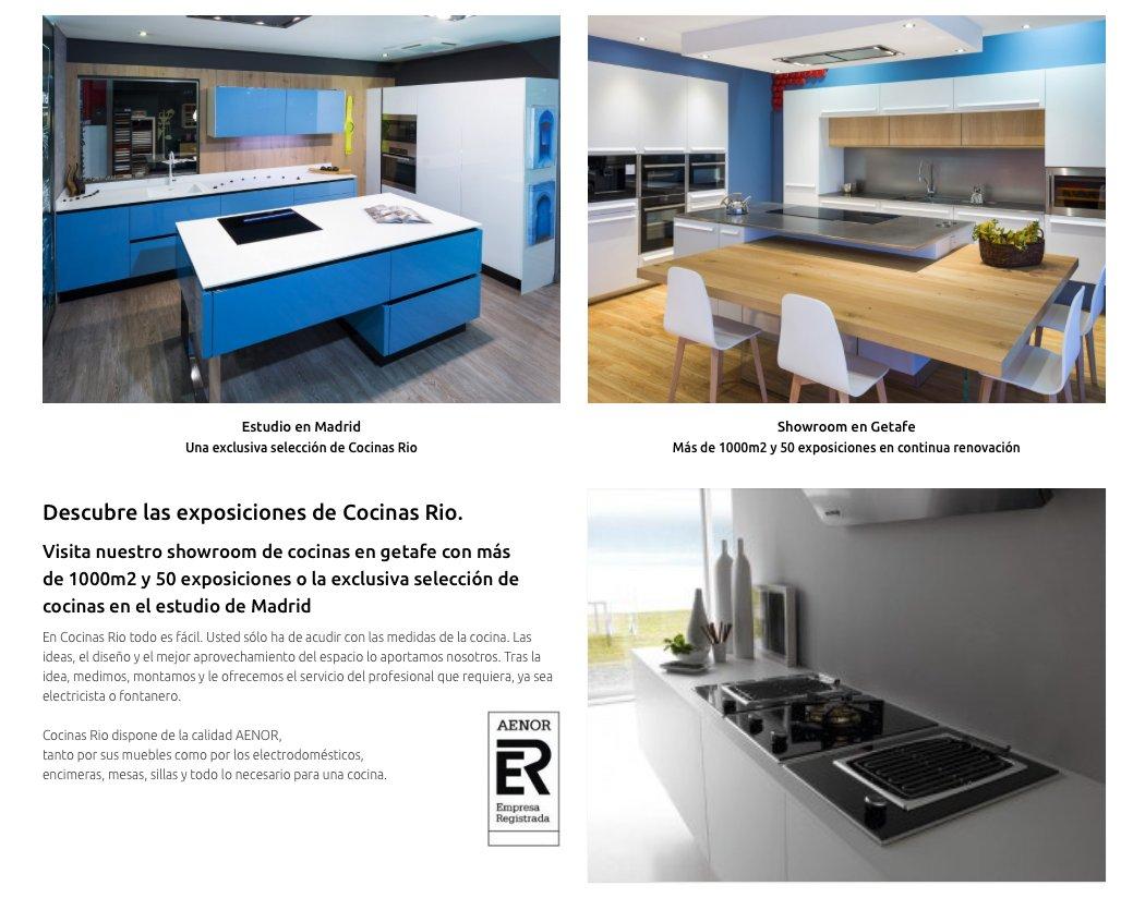 Cocinas rio cocinasrio twitter - Cocinas rio getafe ...