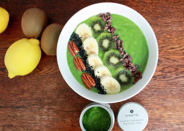 Superfood, , Green Tea Smoothie Bowl