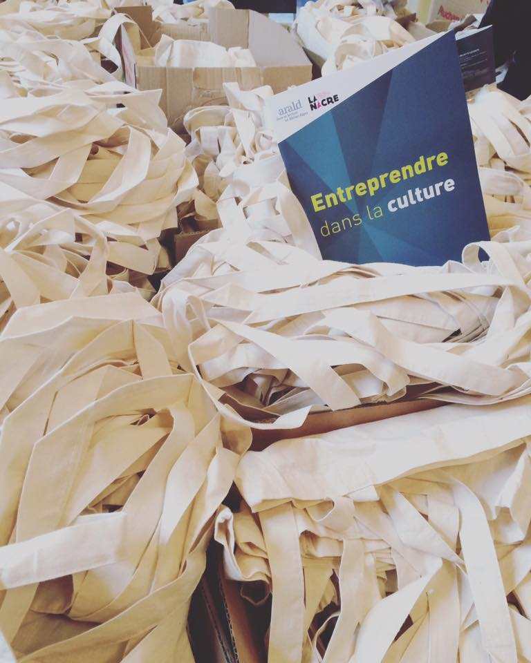 J-4 avant le forum #entreprendredanslaculture #lyon on est (presque) prêt à vous accueillir ! > https://t.co/bEjZbAErQO https://t.co/fXniworPbK