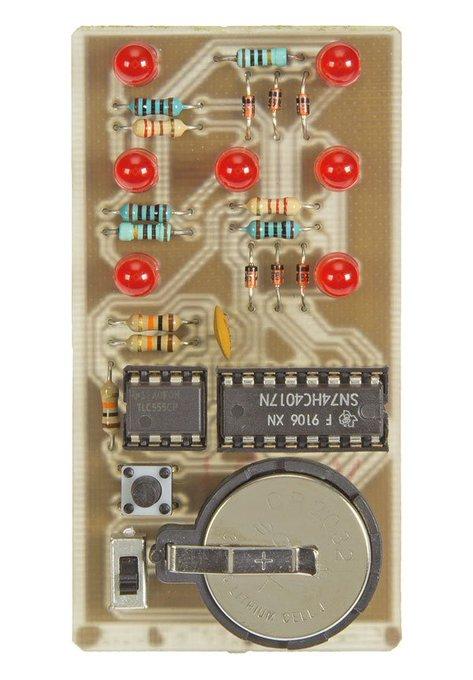 Elektronischer Wrfel im Selbstbau ohne Cloud-Anbindung ;-) ElektorLabs DIY