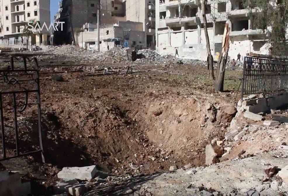 Больницы Алеппо приостановили работу из-за постоянных налетов правительственной и российской авиации - Цензор.НЕТ 7539