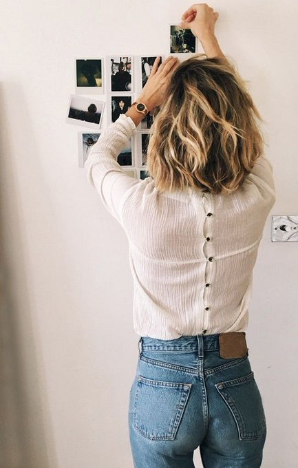 Inspiration: Romantic Blouse & Jeans via Time for Fashion TimeforFashion ootd