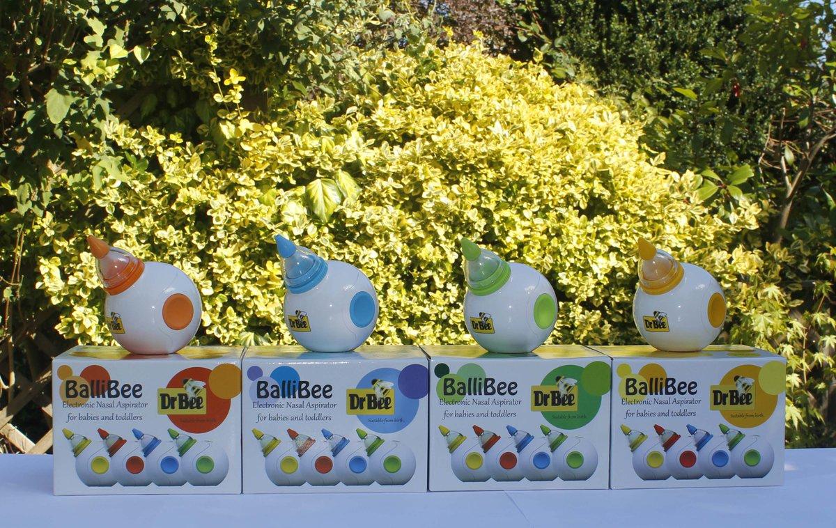 Dr Bee Ballibee Electronic Nasal Aspirator for Babies /& Toddlers