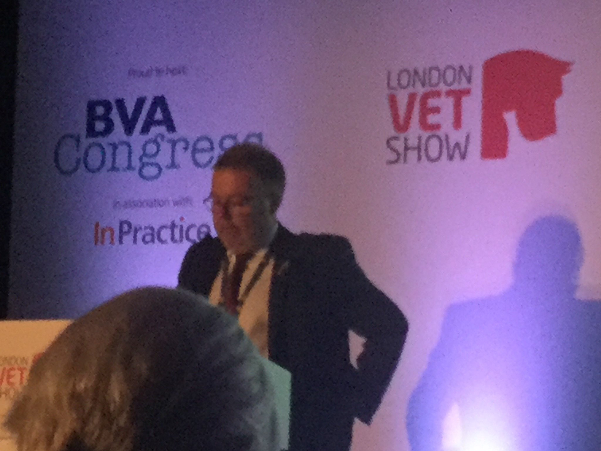 Nigel Gibbens @ChiefVetUK says 2015 figures show antibiotic use in livestock down by 10%. Good news for #AMR, #vetshow, @BritishVets @ruma https://t.co/0C5Ty3PelX