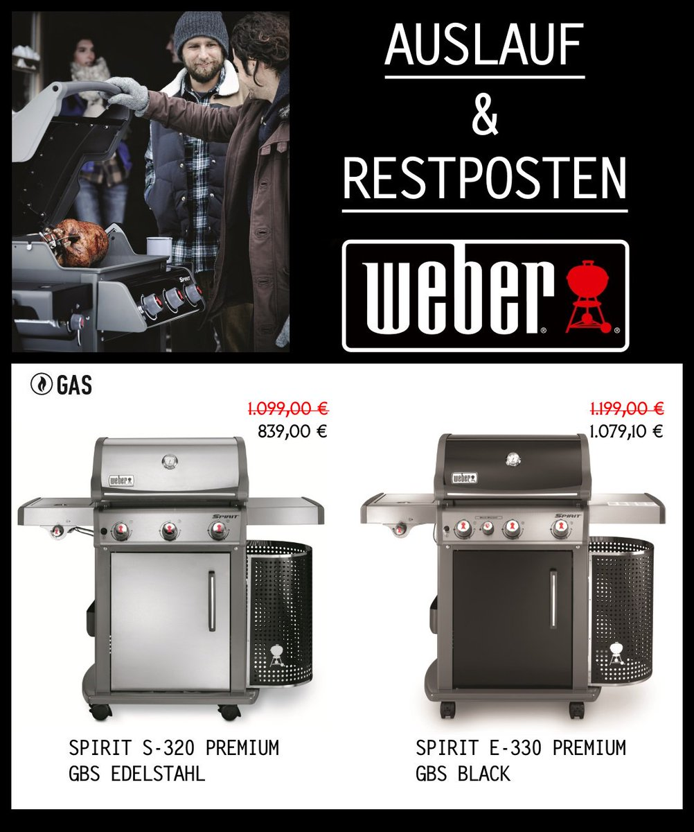 weber gasgrill spirit e 330 gbs premium twozone cooking. Black Bedroom Furniture Sets. Home Design Ideas