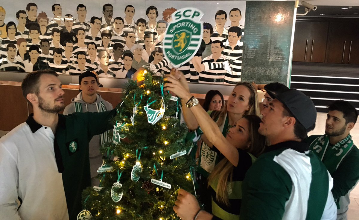 Making Of #ONatalÉVerde Isto é o @Sporting_CP https://t.co/VAfHwRwGbT
