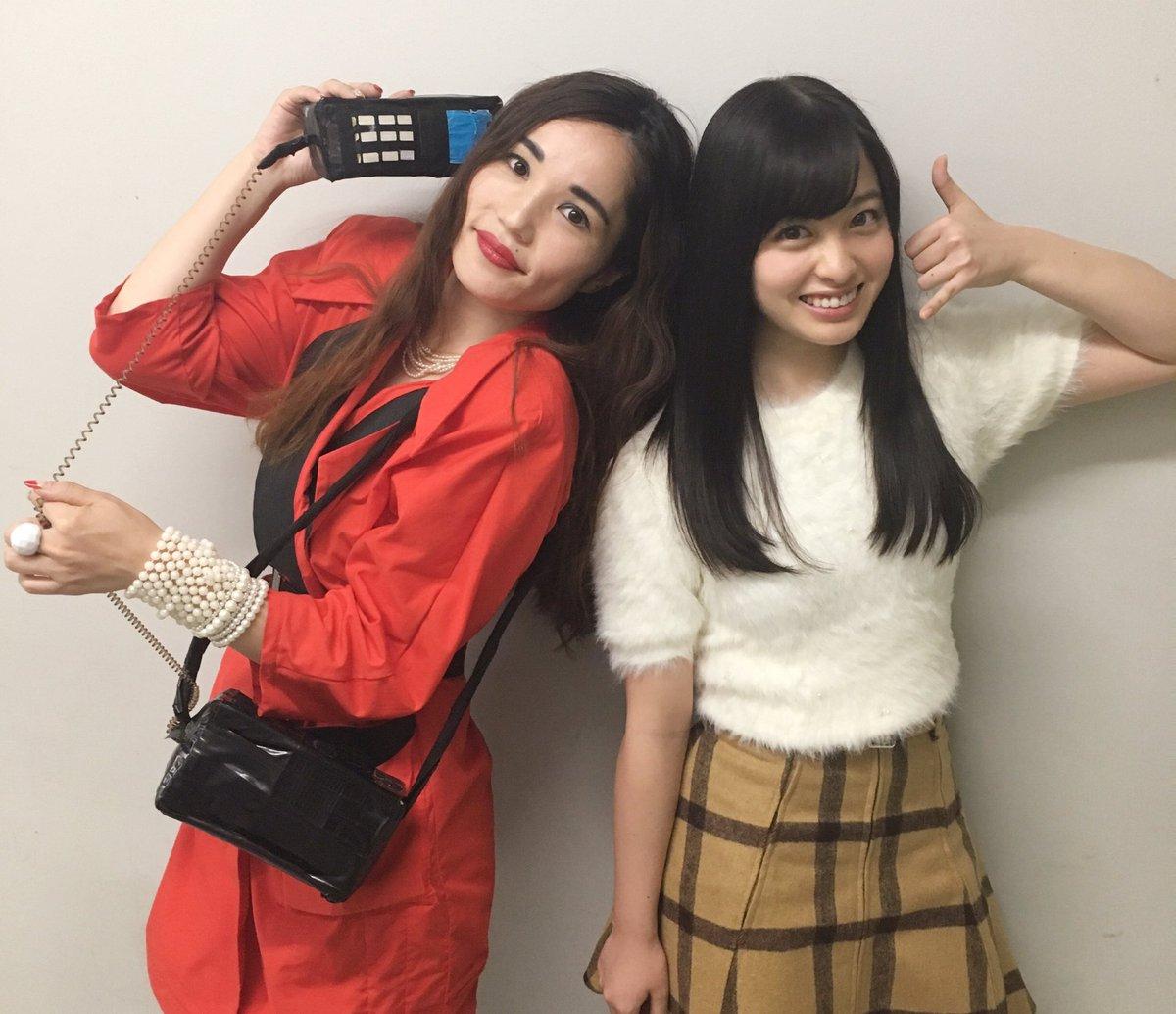 ダウンタウンDX始まりましたね〜  写真撮って頂いたんです!! #平野ノラ さんと♡ バブリー!!