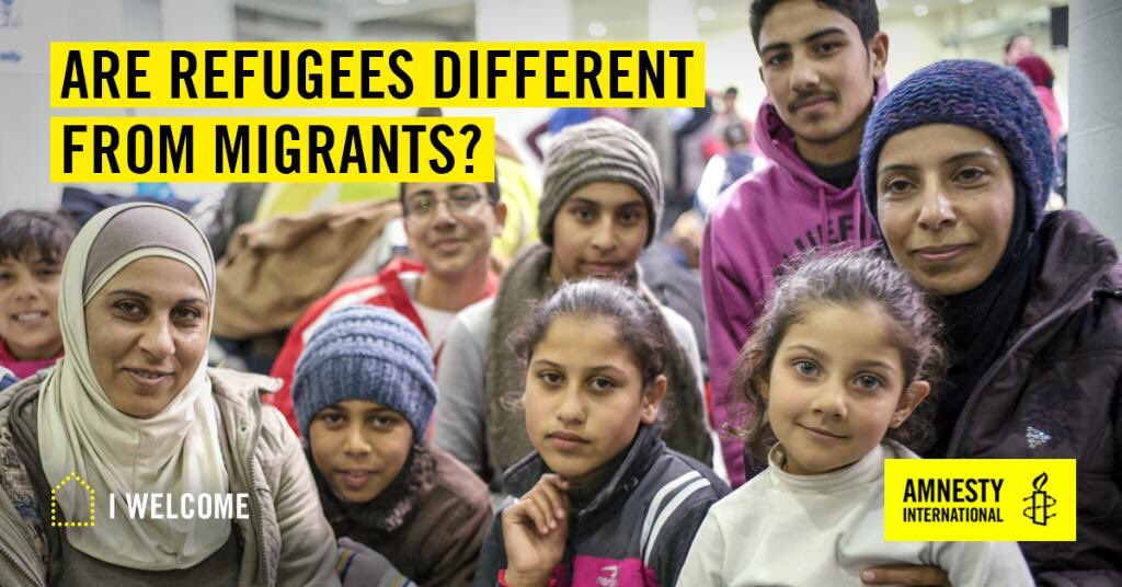 Sign up now to Amnesty's FREE Massive Open Online Course #MOOC on refugee rights: https://t.co/QvX39E2ell #IWelcome https://t.co/av32pifymC