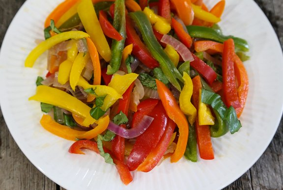 Peppers & Onions Recipe -