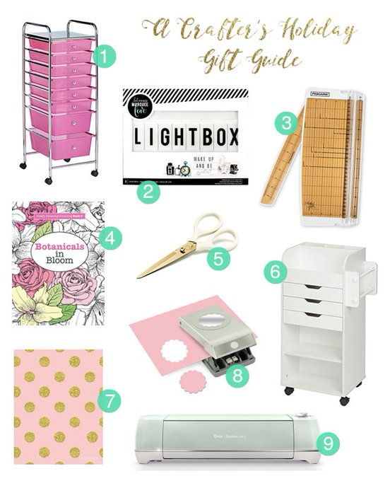 Find the perfect gift for the crafter in your life: giftideas crafts DIY prettythings