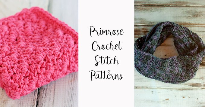 A list of Crochet Patterns using the Primrose Stitch. crochet crafts DIY