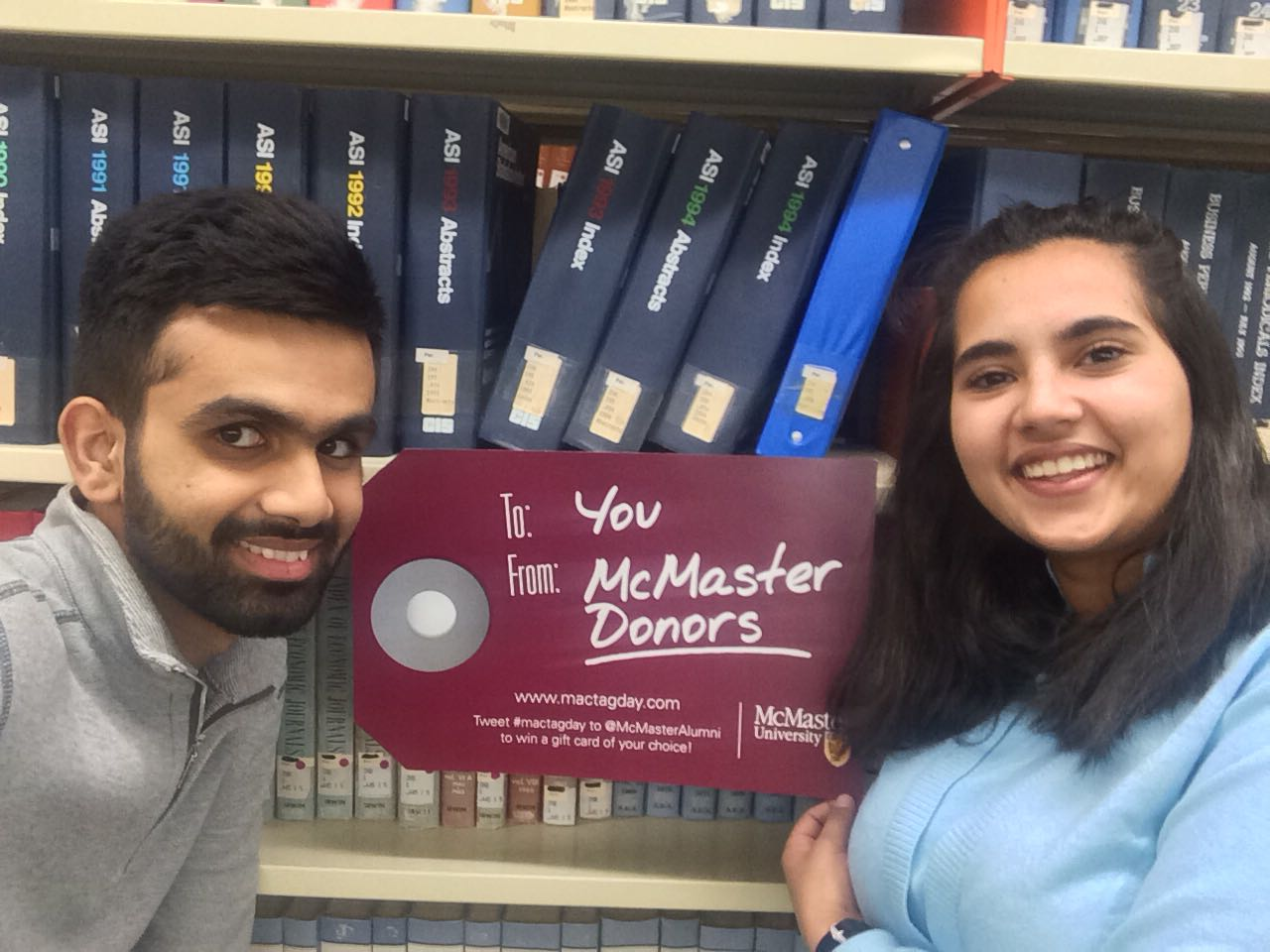 Thank you @McMasterAlumni for amazing facilities, including the study spaces in @MacMillsLibrary!!! #MacTagDay #ThankfulThursday https://t.co/CLjPdIgrZ0