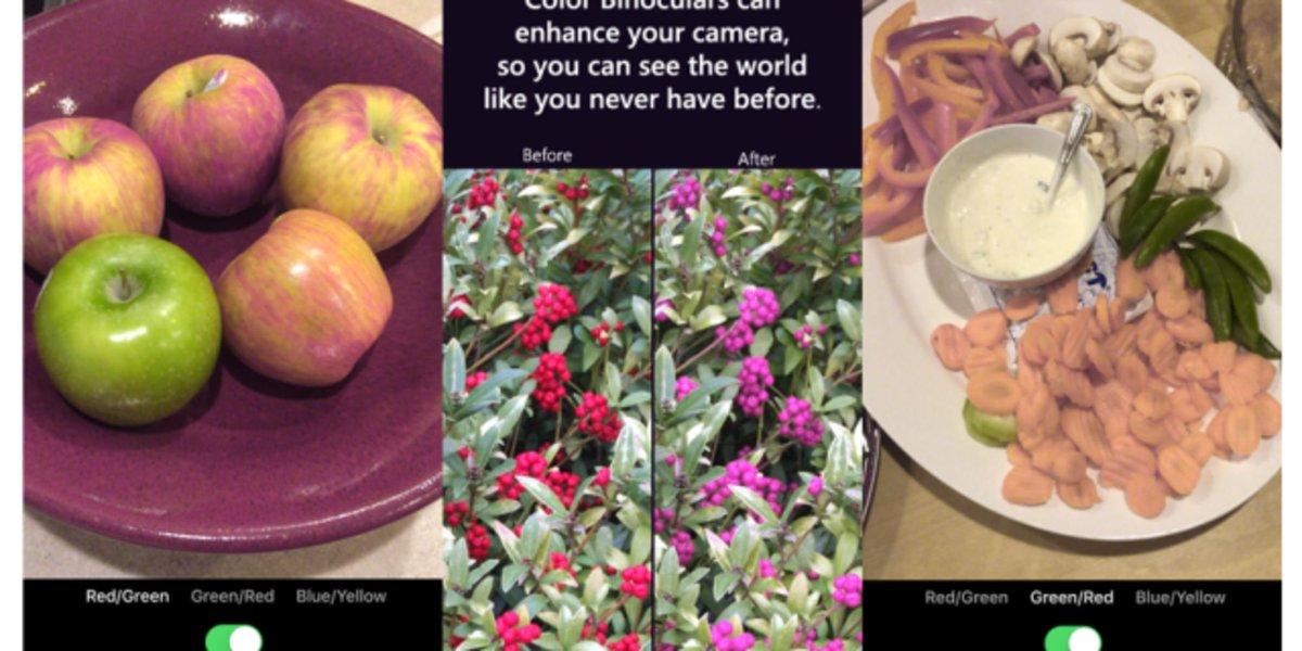Microsoft поможет дальтоникам различать цвета наравне со всеми - Фото