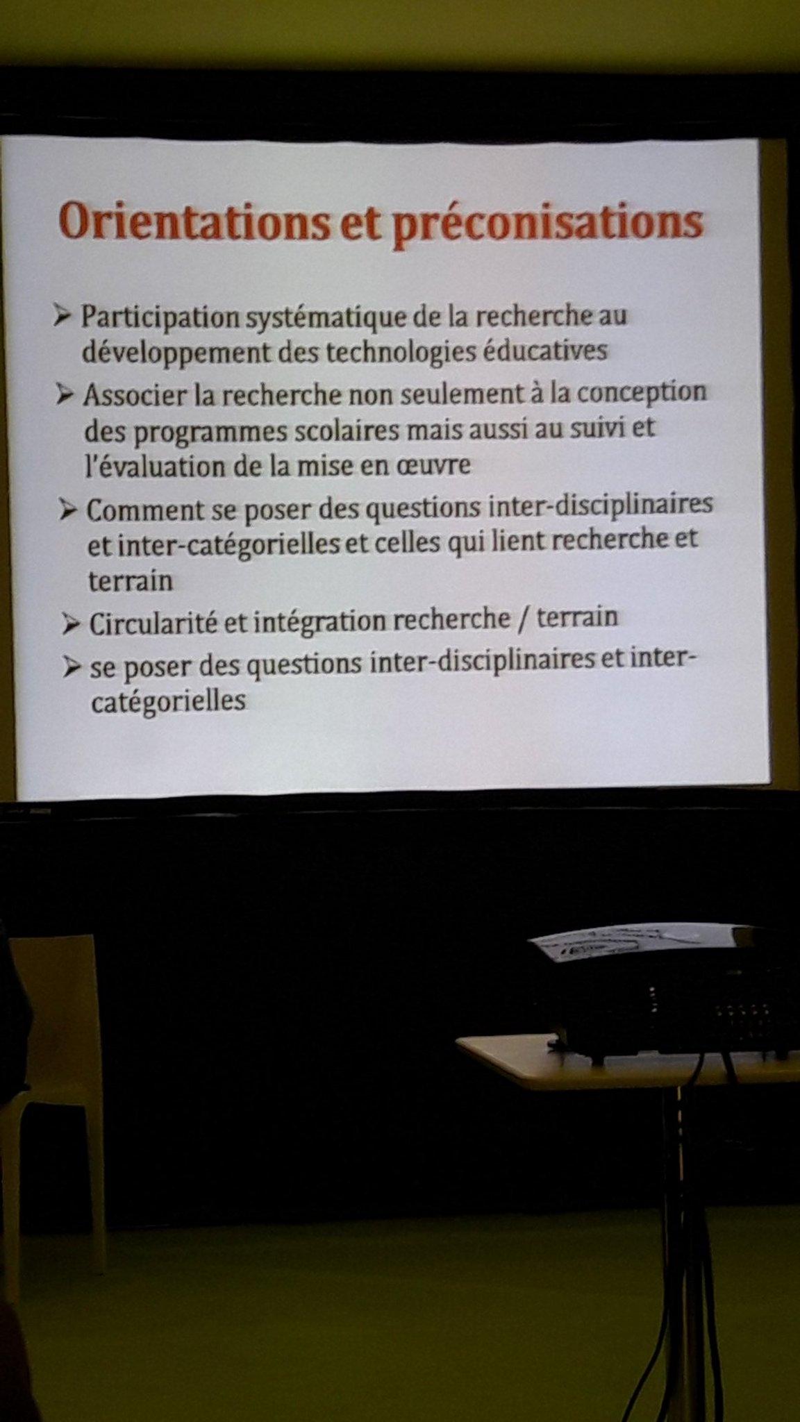 #confdeconsensus #educatectice Orientations et préconisations des experts engagés dans la réflexion sur le #numérique en éducation https://t.co/LYqp3gENoT
