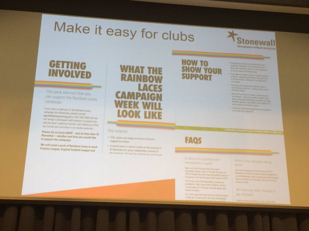 Key message from @stonewalluk 'Treat your partners well' and make it as easy as possible to get involved #ccfilterbubble https://t.co/Fxa58YBSZU