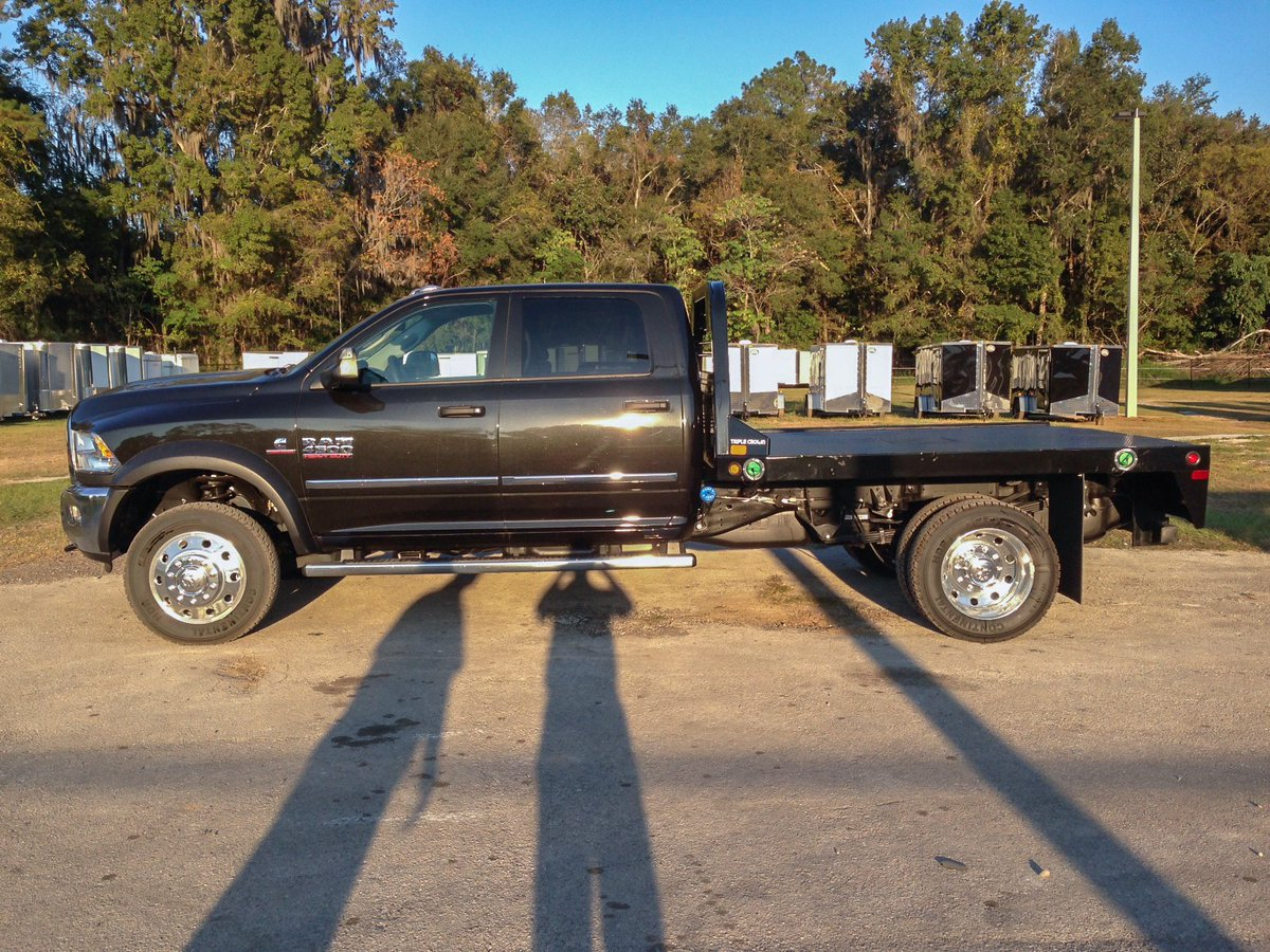 Triple crown trailer on twitter check out this cm truck bed ss model on a ram 4500 hd looks great https t co tsgzbr4bcr ocala truckbeds ram