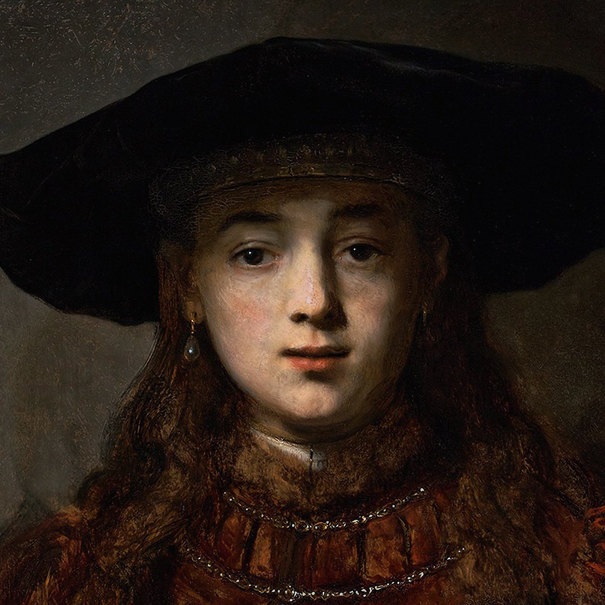 Rabih Alameddine On Twitter Good Morning Rembrandt Girl In A
